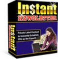 Thumbnail Instant News letter With Master Resale Rights.