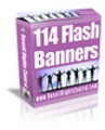 Thumbnail 114 flash banners With Master Resale Rights.