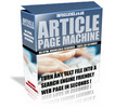 Thumbnail Article Page Machine With Master Resale Rights.