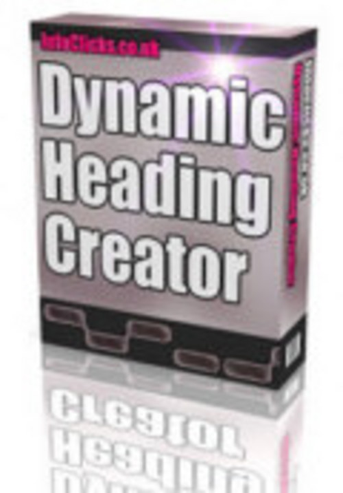 Product picture Dynamic Header Creator With Master Resale Rights.