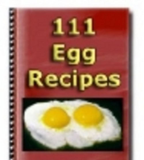 Product picture *new* 111 Egg Recipes With Master Resale Rights ! Recipes Gu
