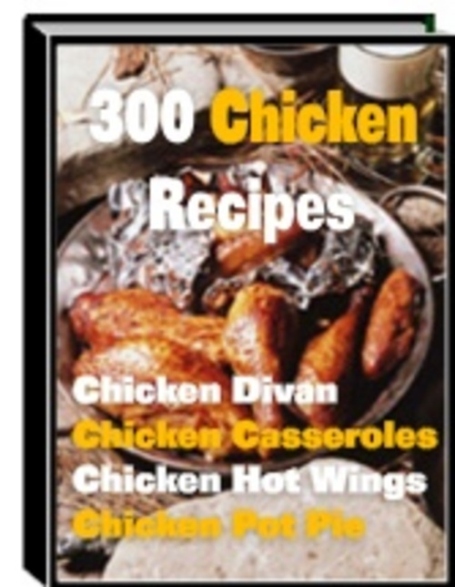 Product picture 300 Chicken Recipes With Master Resale Rights.
