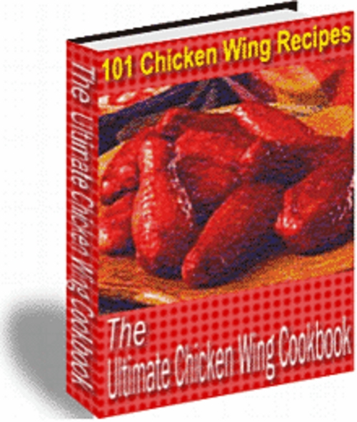 Product picture Chicken Wings Recipes With Master Resale Rights.