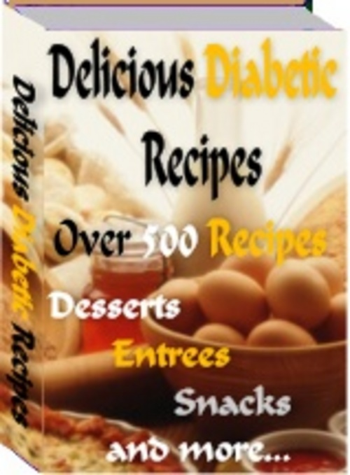 Product picture Delicious Diabetic Recipes With Master Resale Rights.