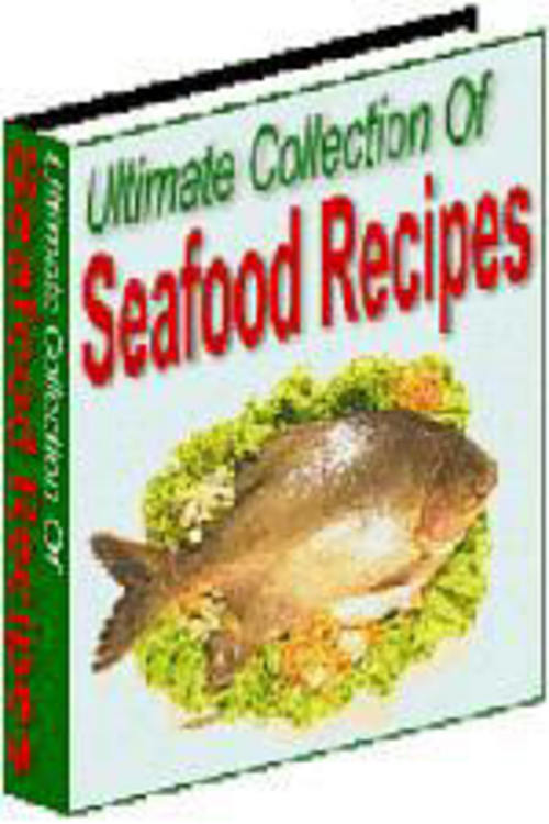 Product picture Fish Recipes: Collection Of Fish And Shell-fish Recipes MRR