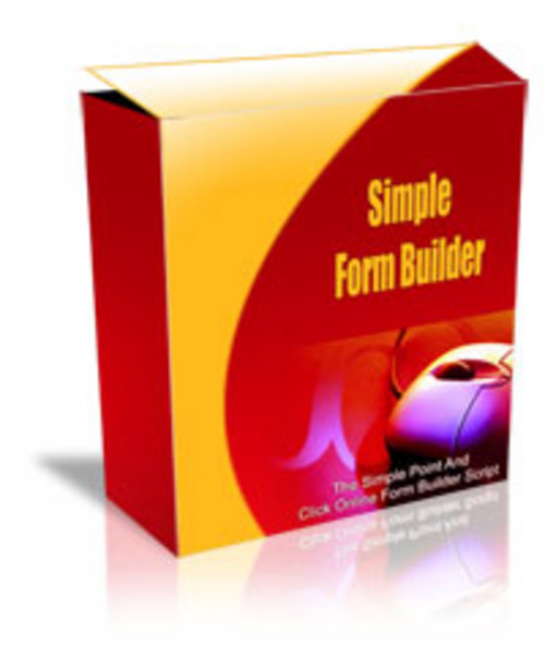 Product picture Simple Form Builder MRR.