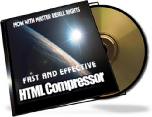 Product picture HTML Compressor With Master Resale Rights.