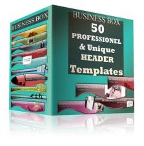 Product picture 50 Professional website template With Master Resale Rights.