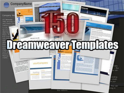 Product picture 150 Dreamweaver templates With Master Resale Rights.