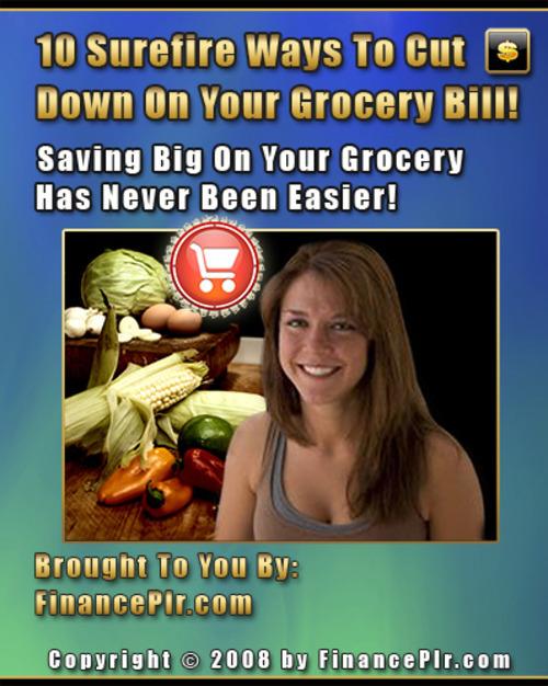 Product picture 10WaysToCutGroceryBills.2717.zip